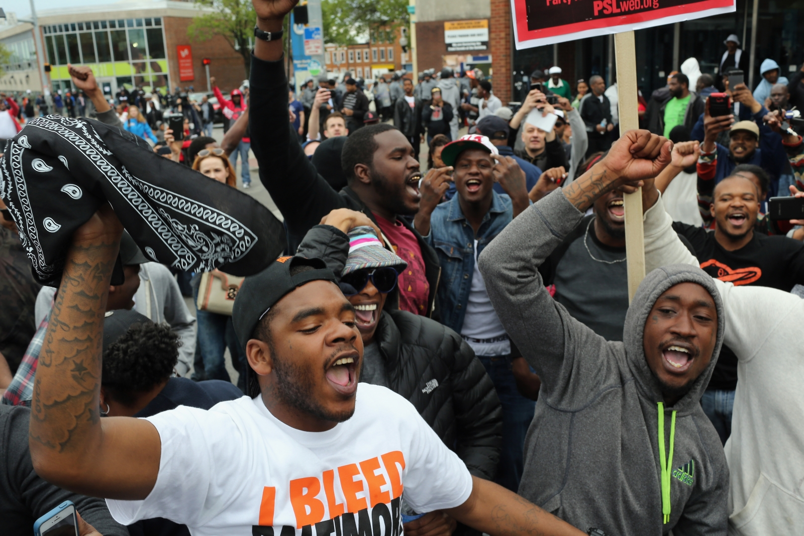 Baltimore Freddie Gray celebrations