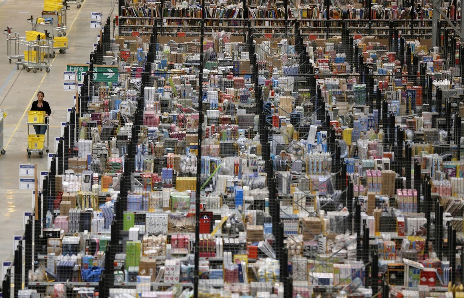 Amazon fulfilment centre in Peterborough
