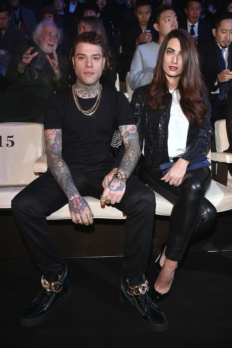 Fedez and Giulia Valentina