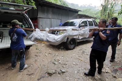 Thailand mass grave