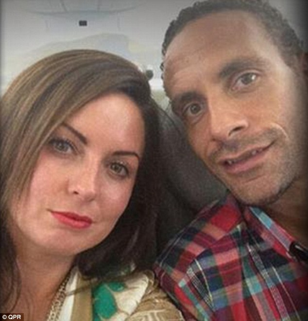 Rio Ferdinand and late wife Rebecca Ellison