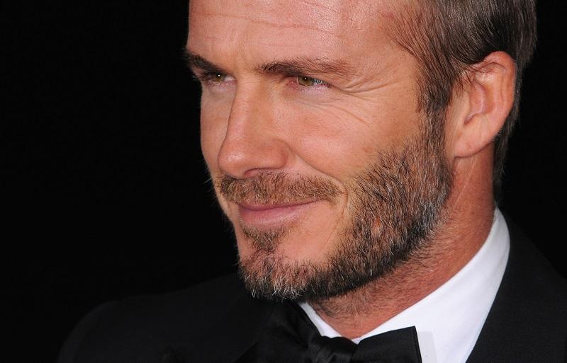 David Beckham Night for Heroes 2014