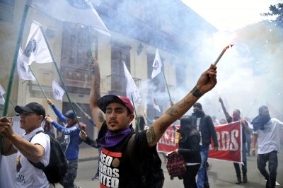 May Day protests 9
