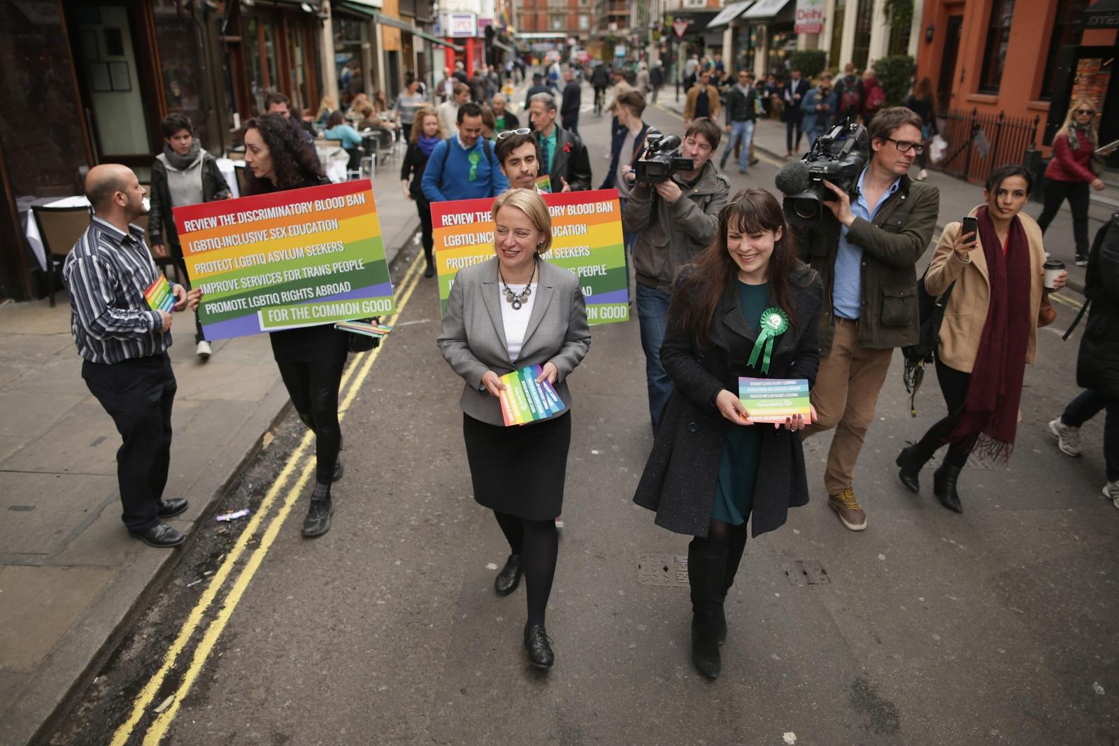 Natalie Bennett LGBTIQ rights