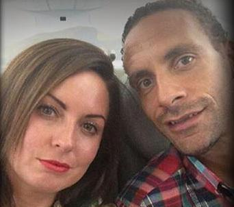 Rio Ferdinand Rebecca Ellisson cancer