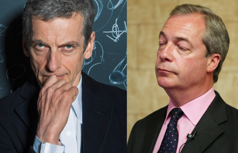 Doctor Who vs Nigel Farage