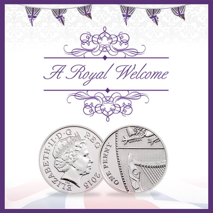 Commemorative coin for royal princess