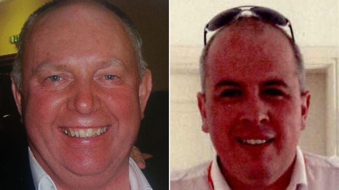 Dundee plane crash victims