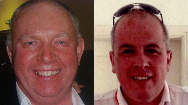 Dundee plane crash victims