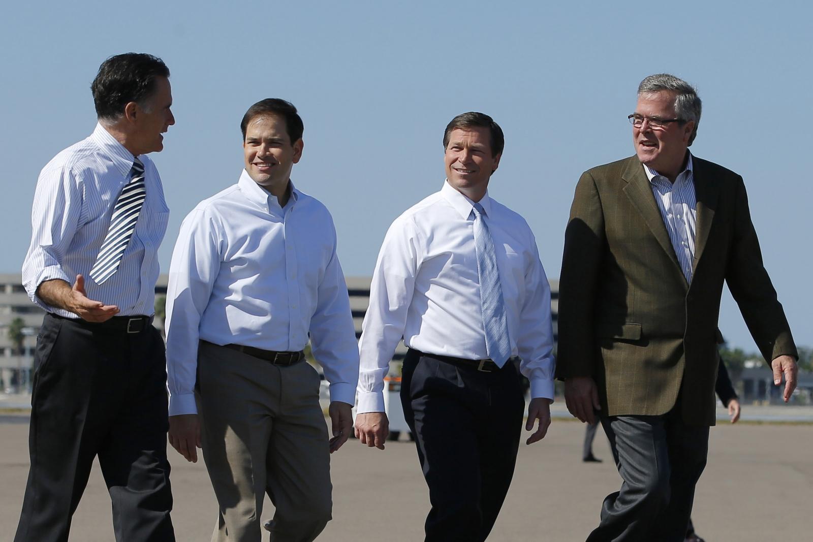 Marco Rubio & Jeb Bush