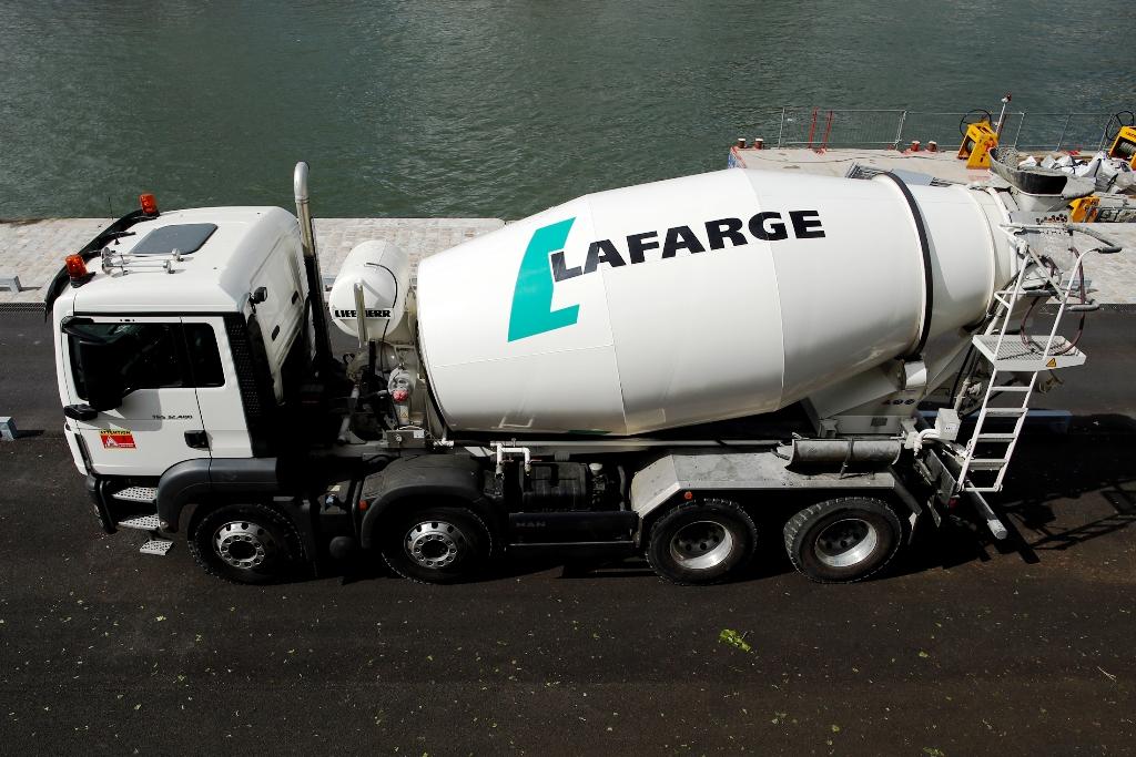 Lafarge Concrete Mixing Truck