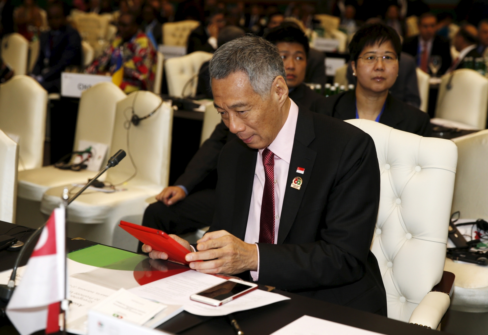 Lee Hsien Loong is tech savvy