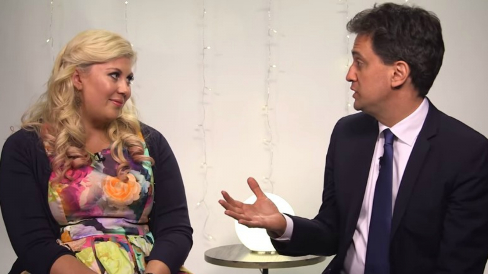 Sprinkle Of Glitter and Ed Miliband
