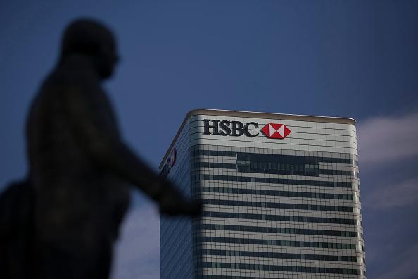 HSBC in Canary Wharf