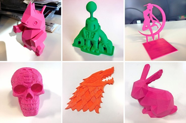 Stuff we printed out with Robox 3Dprinter