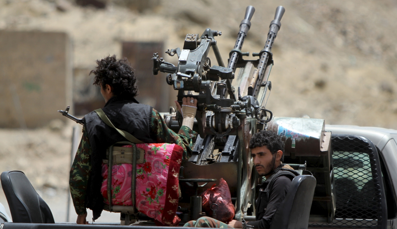 Houthi rebels Yemen