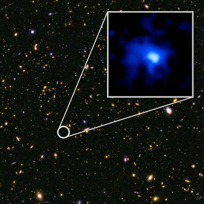 farthest galaxy ever