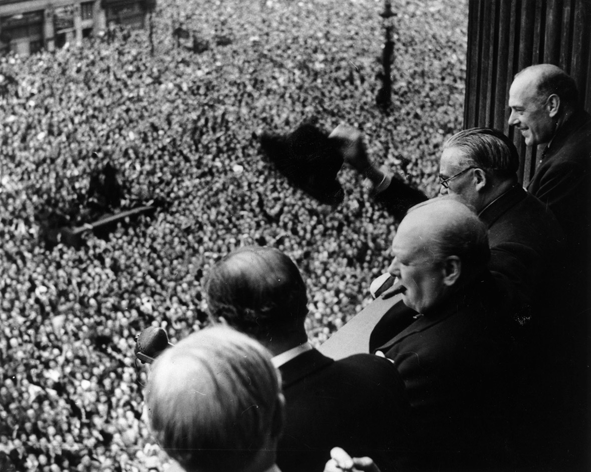 VE Day Germany surrender WW2