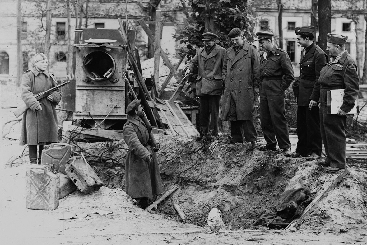 VE Day Germany surrender WW2