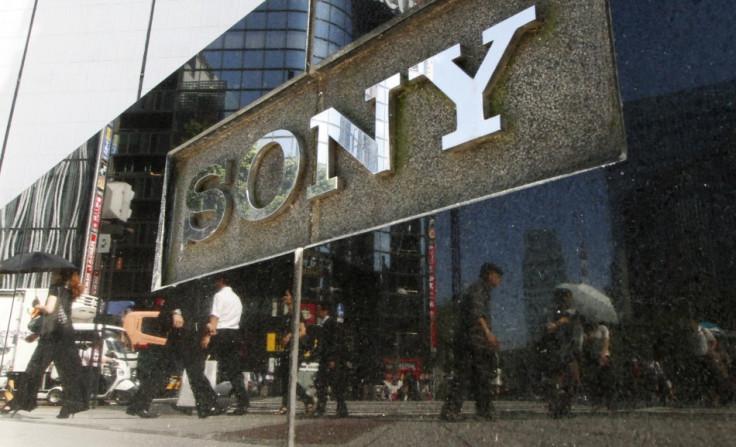 Sony Signage Lurks Big in Tokyo