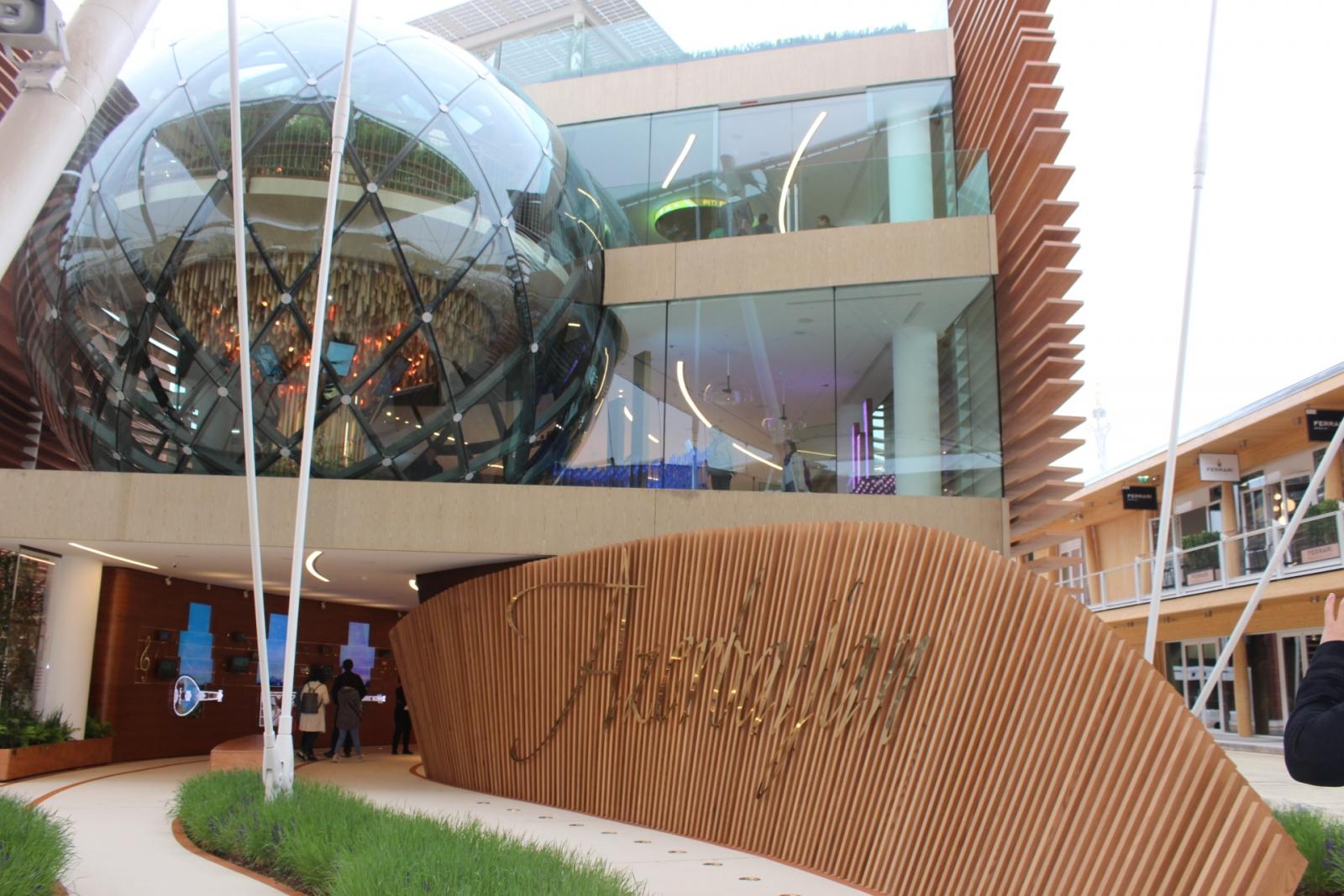 Expo Milano 2015 pavilions