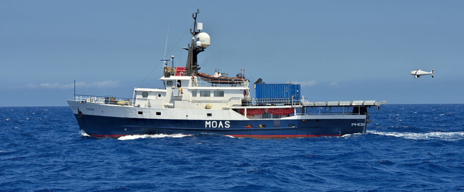 MOAS' MY Phoenix rescue ship