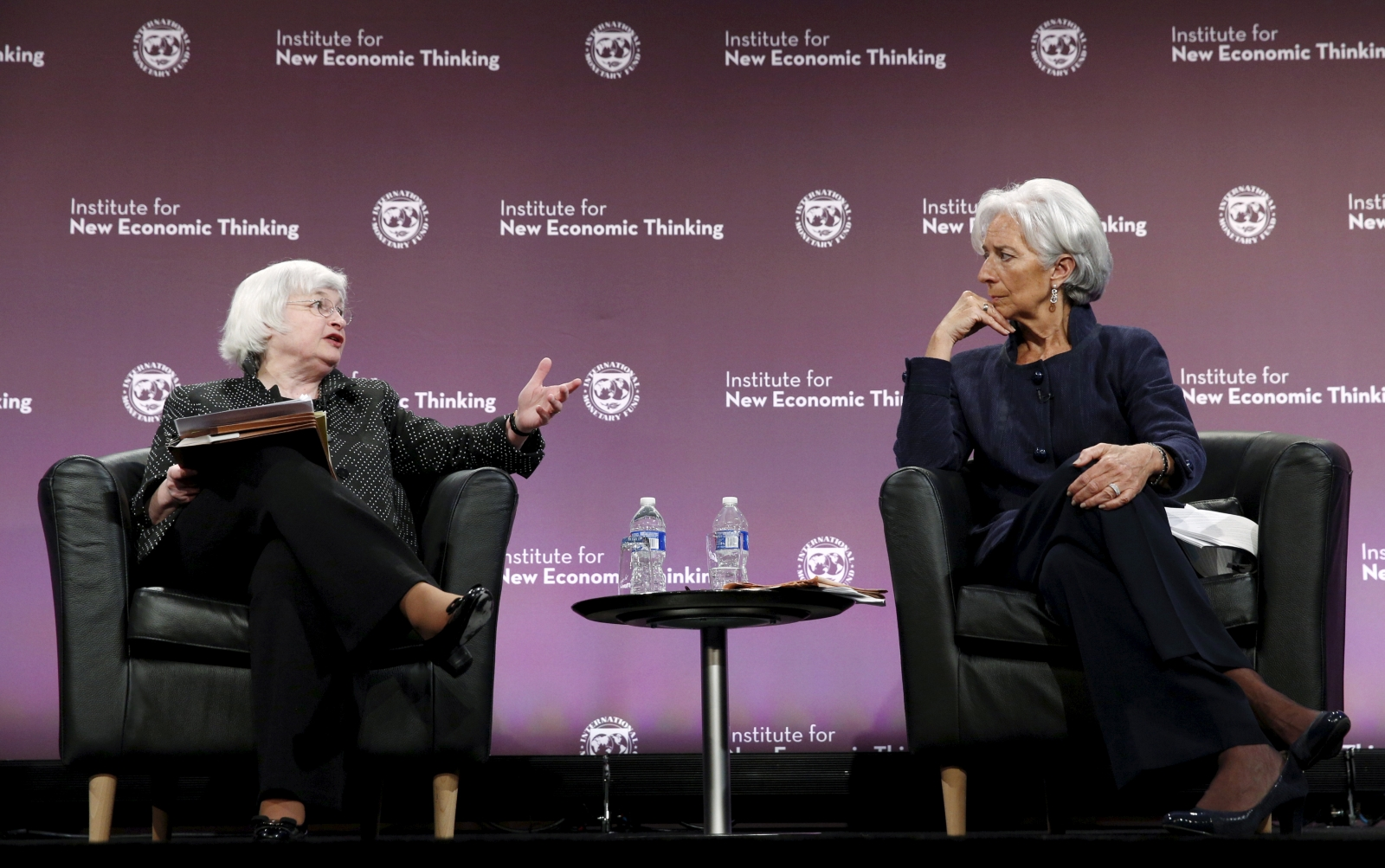 Janet Yellen Christine Lagarde