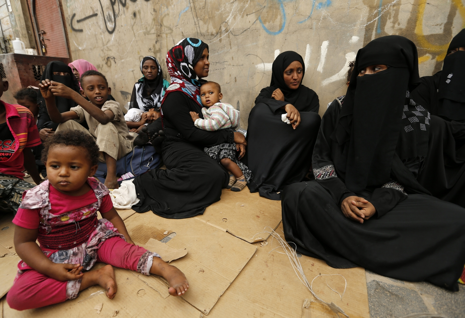 Eritrean asylum seekers Yemen
