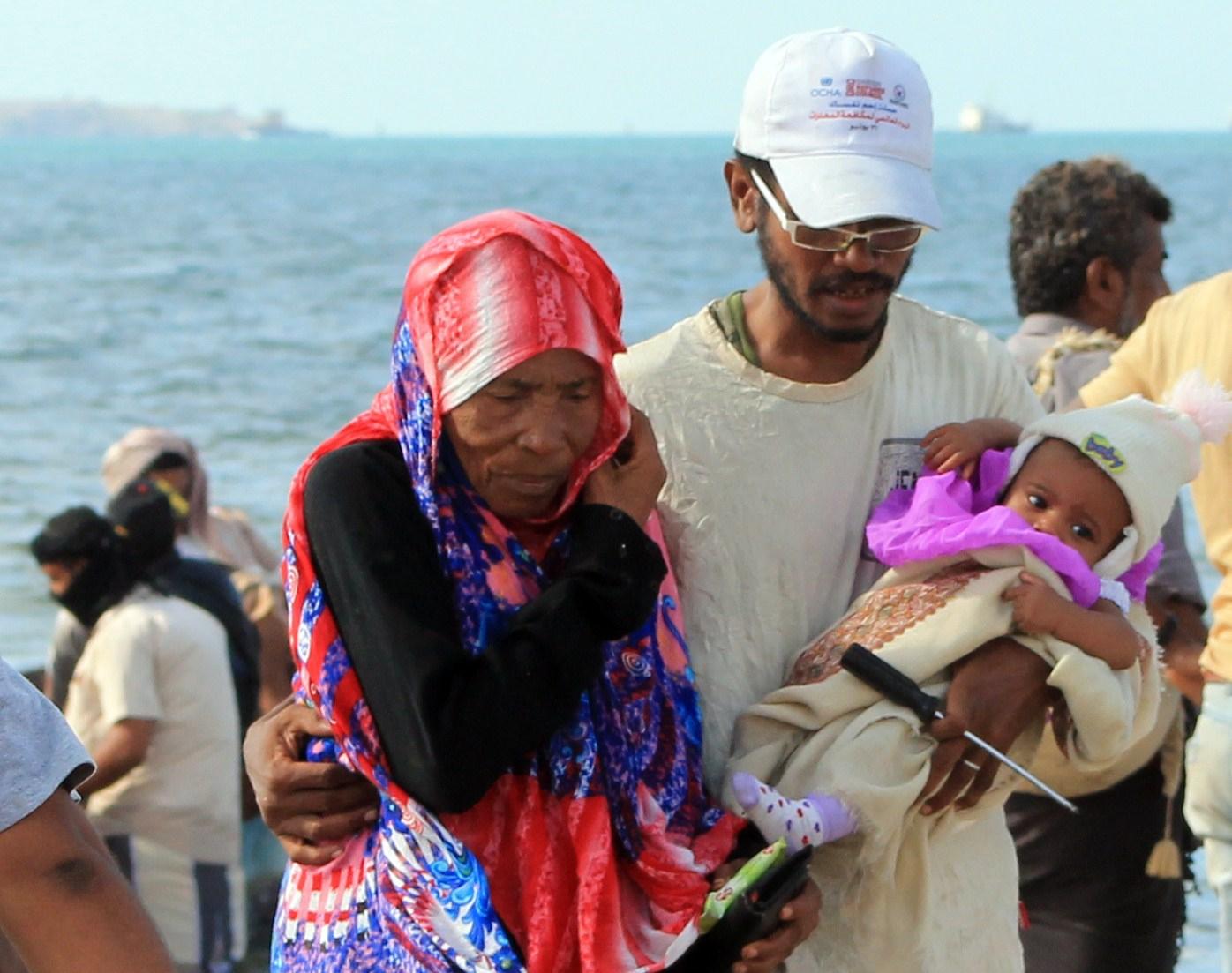 Yemen Aden civilians