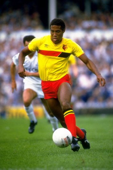 John Barnes in his Watford days