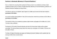Bank of England Notice of Errata