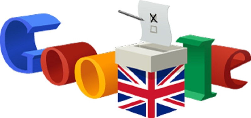 Google Doodle for Election Day