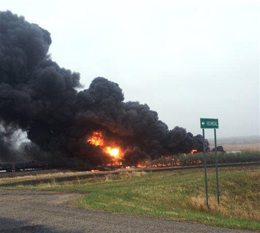 Heimdal train explosion