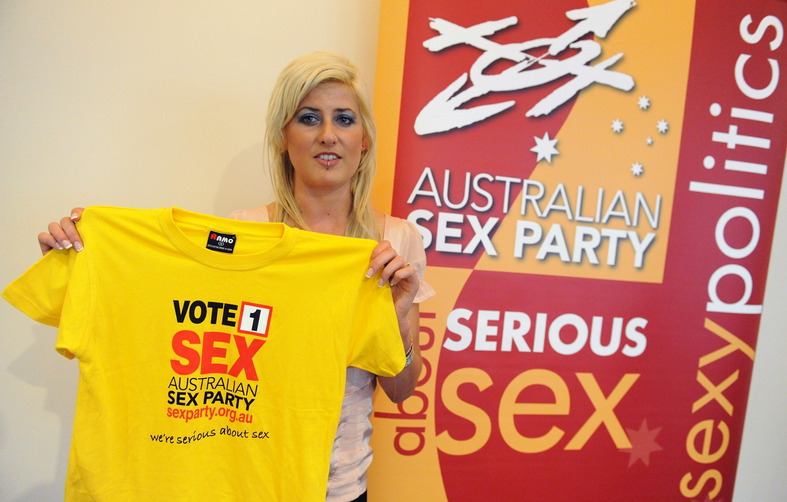 Australian sex party deregistered