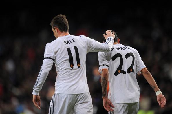 Gareth Bale and Angel Di Maria