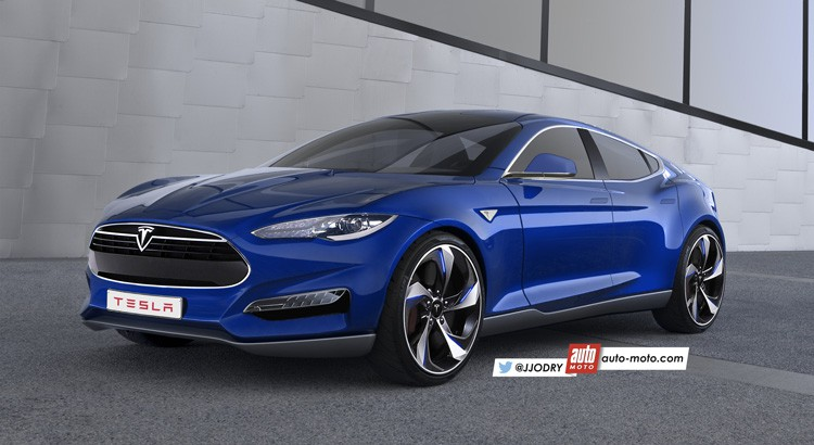 Tesla Model 3 Elon Musk S Bmw 3 Series Rival To Be