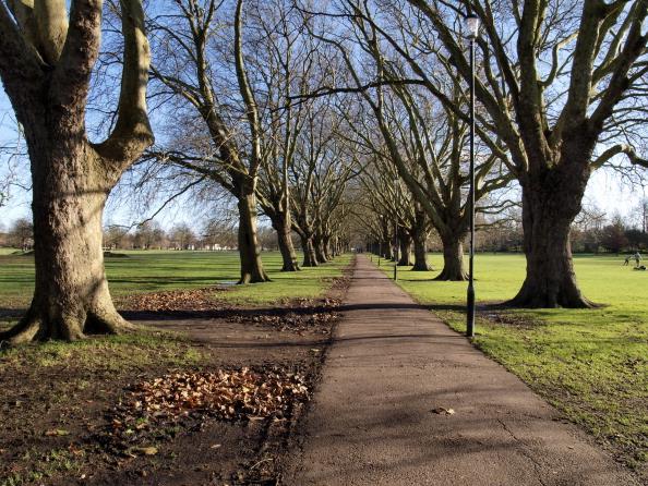 Christ's Pieces park, Cambridge