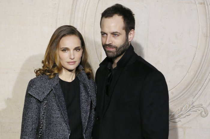 Natalie Portman and husband Benjamin Millepied