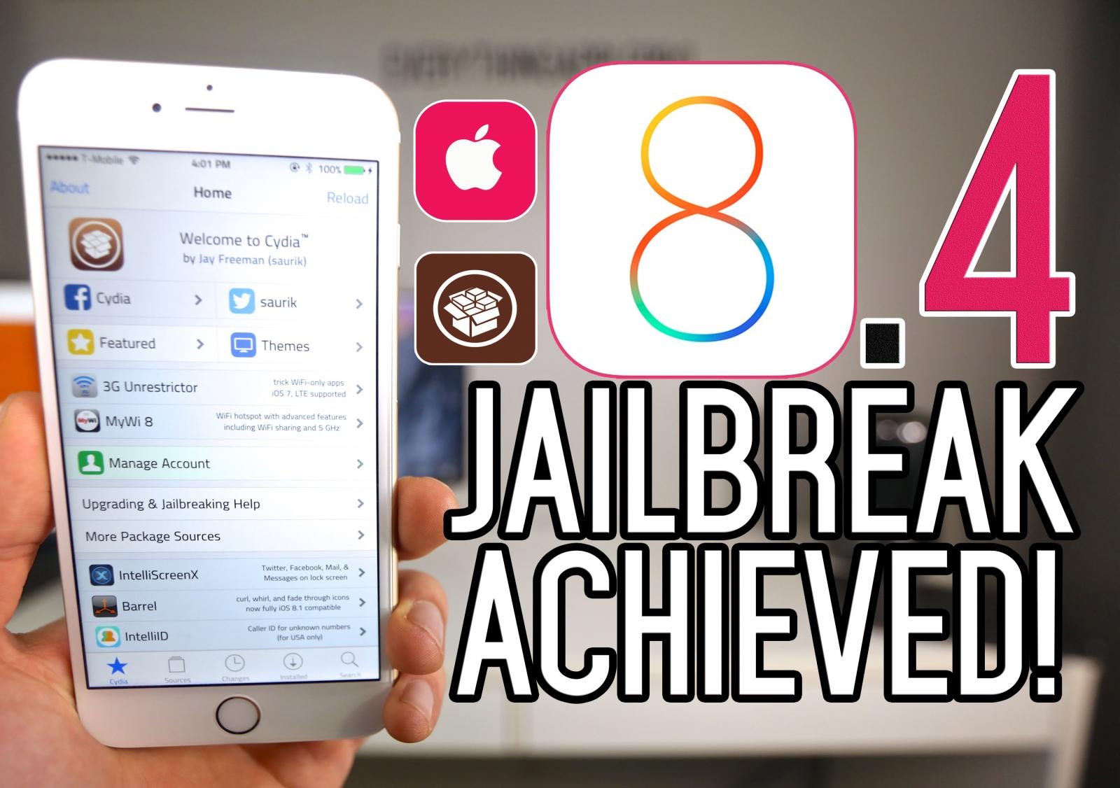iOS 8.3/8.4 jailbreak