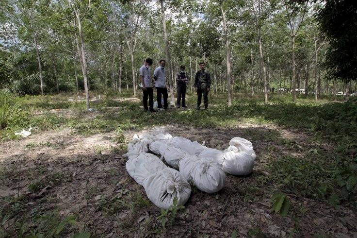 Thailand human trafficking and mass graves
