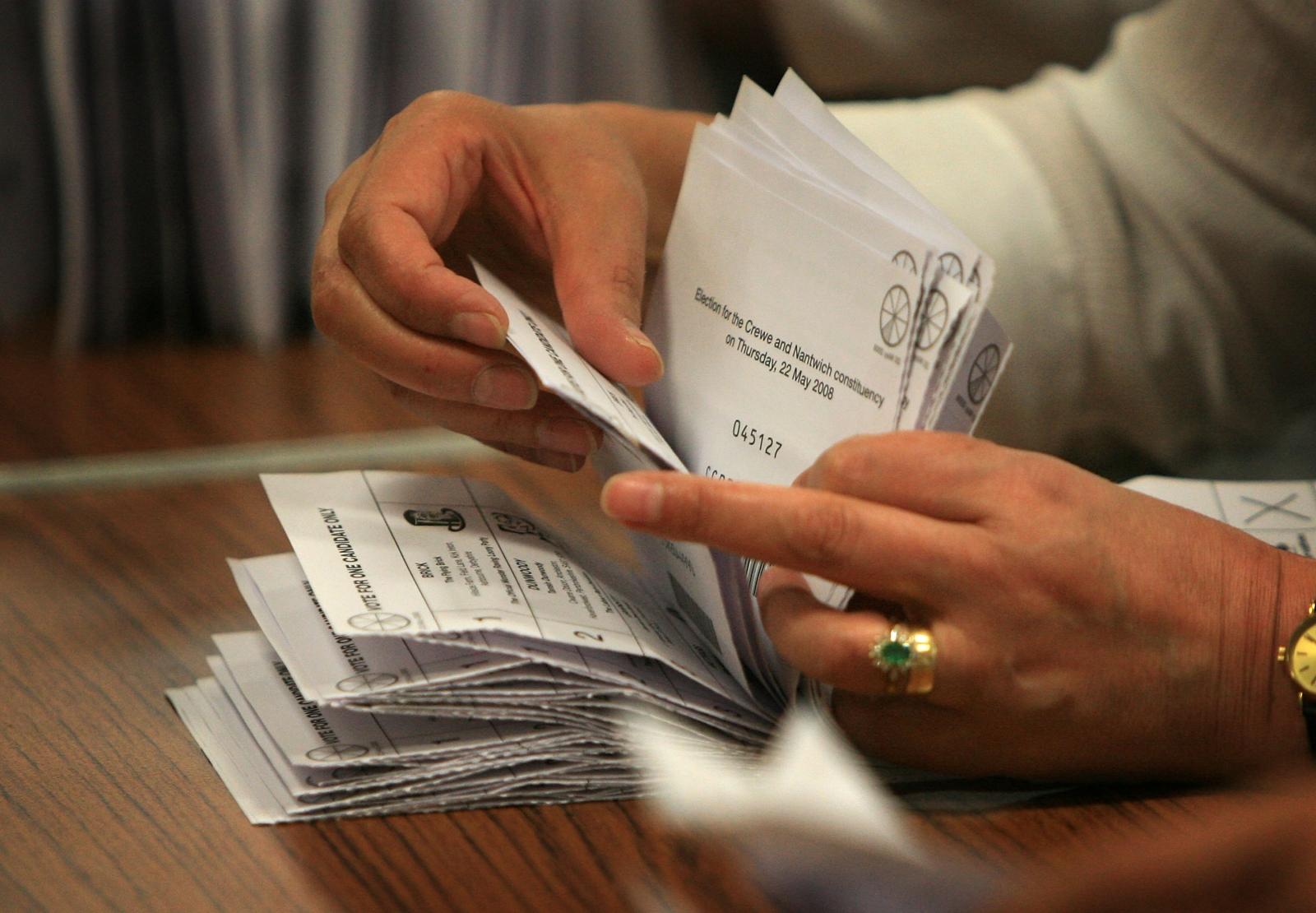 ballot counting