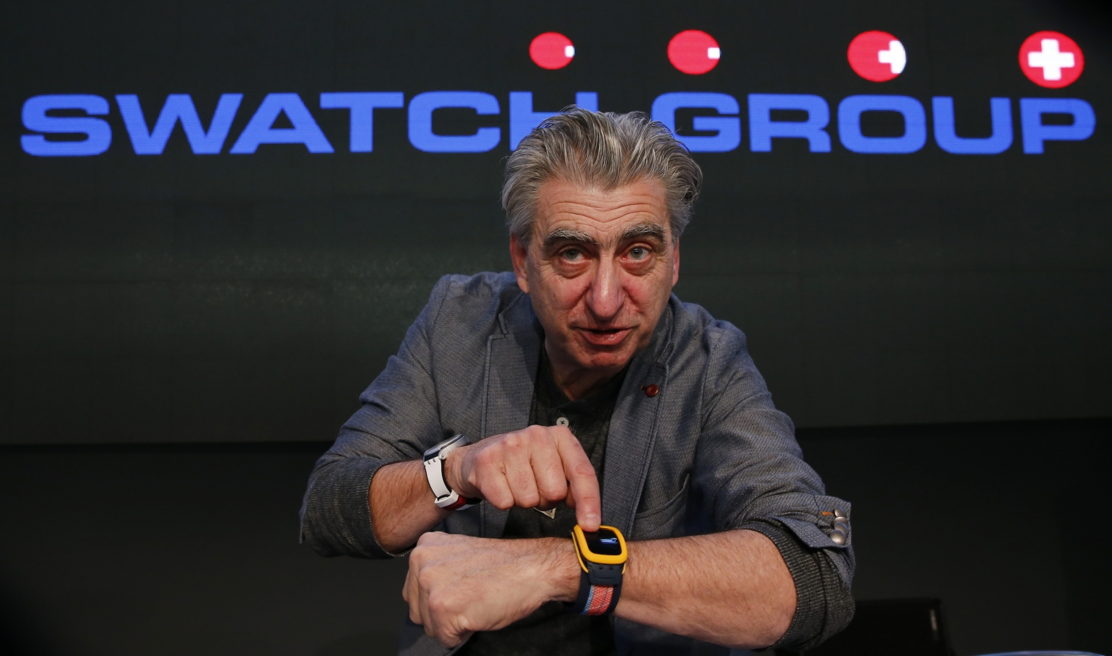 Swatch CEO Nick Hayek