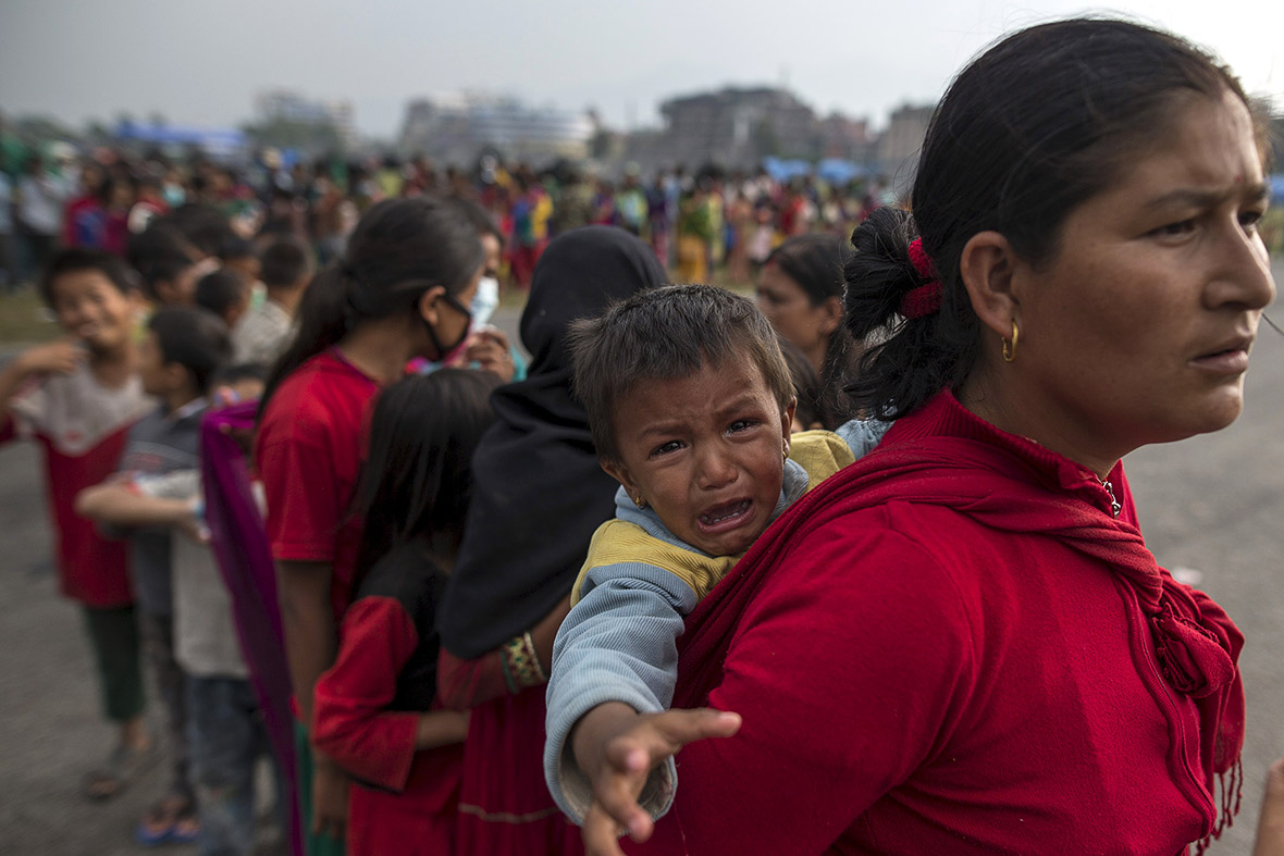 Nepal Earthquake Women And Children At Risk Of Being -4094