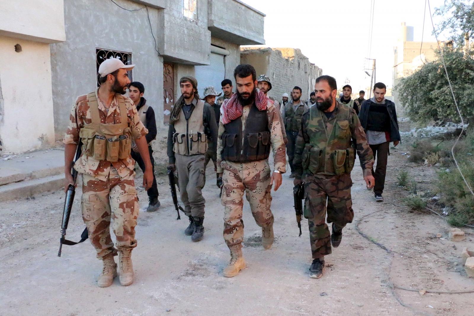 Anti-Assad rebels Syria