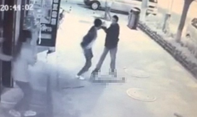 Video of child attacked by stranger