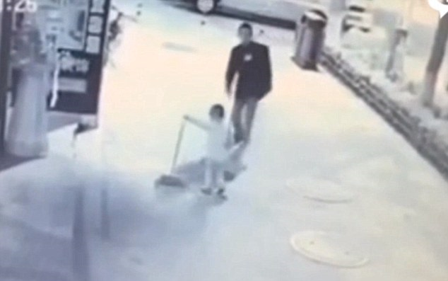 China Video Of Toddler Being Viciously Kicked By Deranged