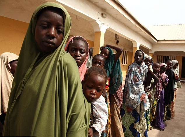 Kidnapped women raped by Boko Haram