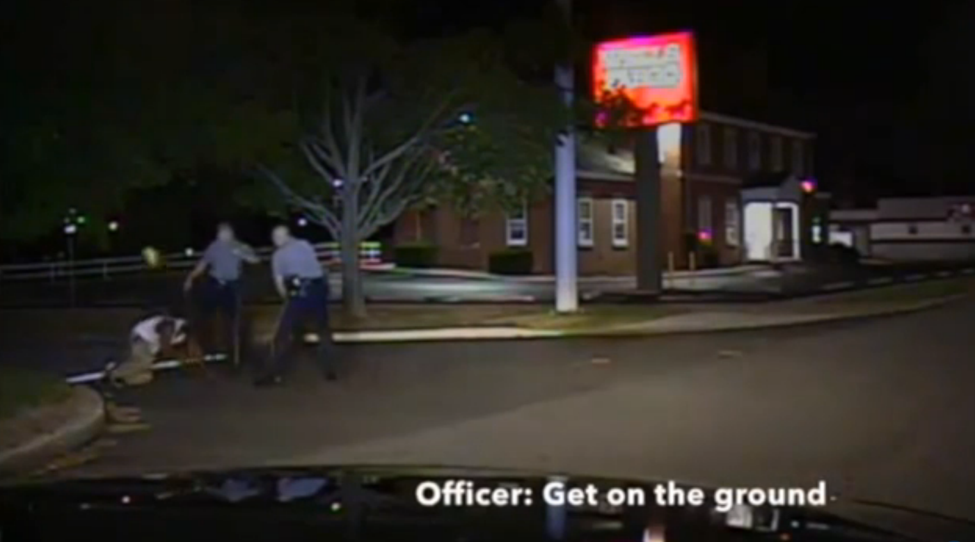Delaware: Video shows white Dover police officer kicking black suspect in the face