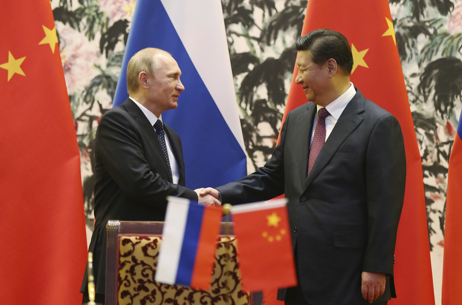 China Russia talks in Moscow