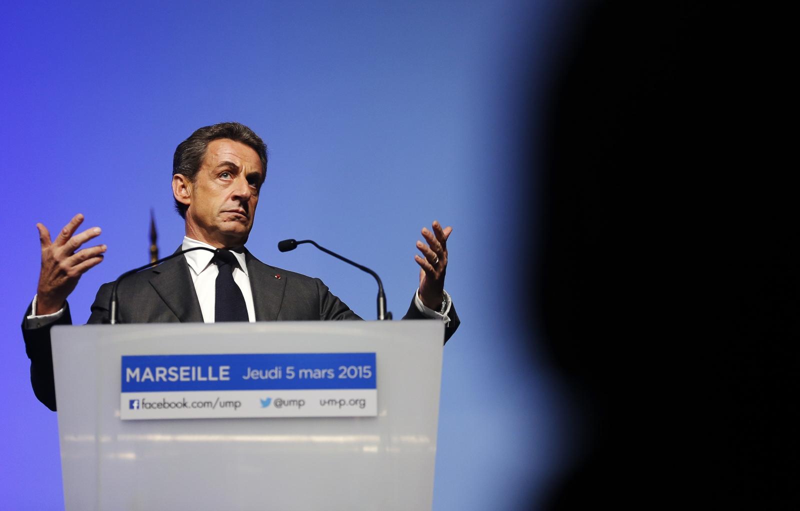 Sarkozy UMP party